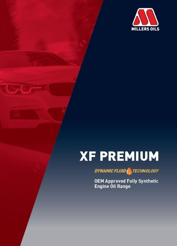 XF Premium Engine Oil Range